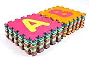 RBWTOYS Alphabet Puzzles Foam Mat A to Z Letters & Numbers for kids Activity rbwtoy18801-2. Play Mats 36pc