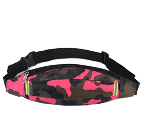 OOFWY Fanny Pack Sport Läufer Taille Pack mit 2 Taschen Bum Tasche für Männer und Frauen 5