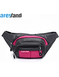 Buyworld Aresland Universal Travel Waist Bag Pack Men Women Oxford Cloth Waist Packs Belt Anti Theft Wallet Belt...