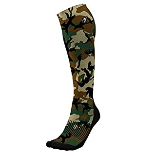 Acel Designer Compression Socks Graduated for Performance and Recovery by (Camo Army, S)