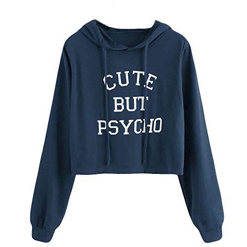 Yanhoo Herbst Damen Pullover Dünne Mode Patchwork Langarm Rundhals Sweatshirt Pulli Langarmshirt Tops Oberteile