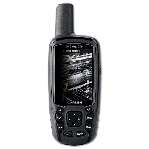 atFoliX Blickschutzfilter für Garmin GPSMap 62sc Blickschutzfolie, 4-Wege Sichtschutz FX Schutzfolie - Gpsmap 62sc-gps Garmin