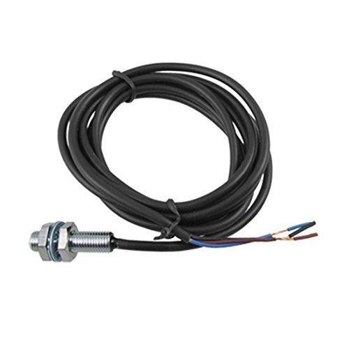 sourcingmap® PR08-1.5-DN DC 12-24V NPN N 1.5mm Interruttore Del Sensore Di Prossimità Induttivo