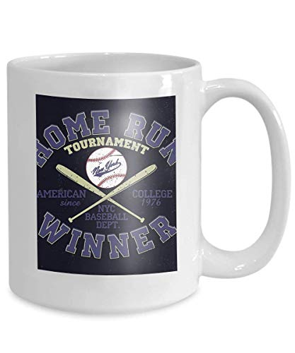 Sport Athletic Baseball Coffee York Design Stamp Mug 110z Typography Wear Fashion Tea Print Original New Cup Apparel Usa EIWD9H2