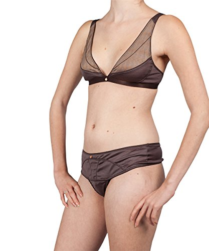 Wundervoll Luxury Lingerie -  Culotte  - Donna dunkel-braun (schoko / cacao)