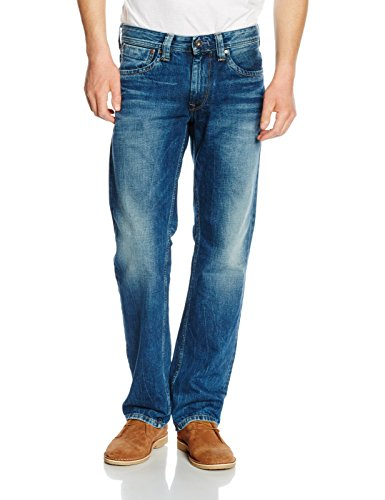 Pepe Jeans Men's Kingston Zip Straight Jeans