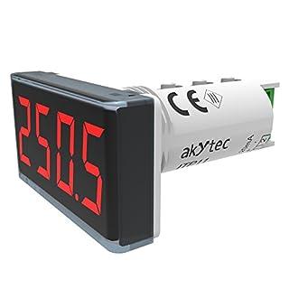 akYtec ITP11 Prozessanzeige 4-20 mA, Rot