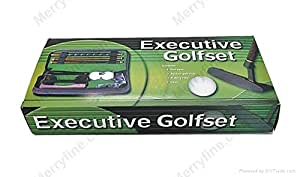Foldable Executive Golf Set Perfect of Office / Home Putting Practice