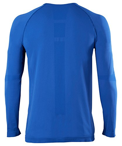 FALKE Herren Warm Longsleeve Shirt Comfort Unterwäsche athletic blue