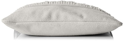 Bags4Less loopbag/Messenger Model: custodia con frange Tipsi/shirtinstyle colori a scelta dimensioni: 30 cm X 30 cm X 10 cm con tracolla regolabile, (Marrone), Small Grigio (Grigio)