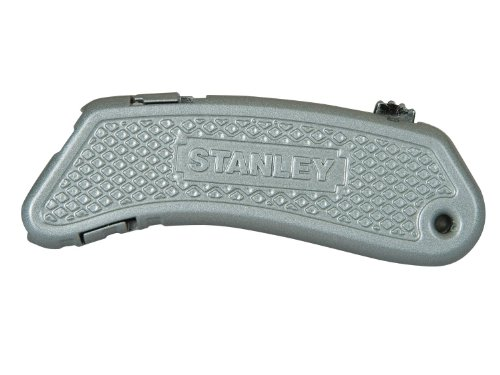 Stanley Quickslide II Sportmesser ZollPocket Zoll (kompaktes ergonomisches Sportmesser, werkzeugloser Klingenwechsel) 0-10-812