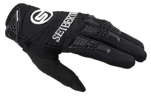 Seibertron Herren Handschuhe Dirtpaw Race Fahrrad Handschuhe sporthandschuhe für Radsport MTB Mountainbike Outdoor Sport Bike Gloves Schwarz L