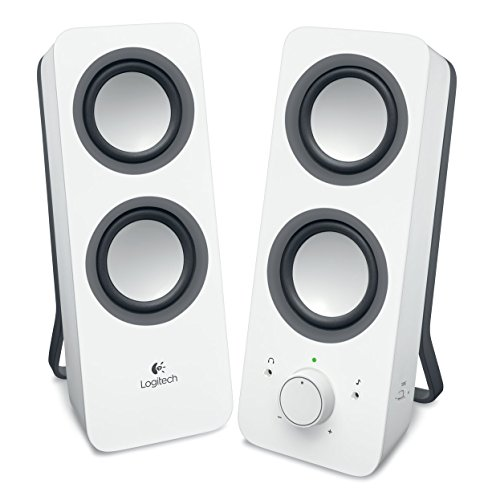 Logitech® Z200 Stereo Speakers - Snow White - 3.5 MM - N/A - EU