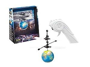 Revell Control- Copter Ball Space (Earth) Helicóptero de Remoto Control, Color Azul (24976)