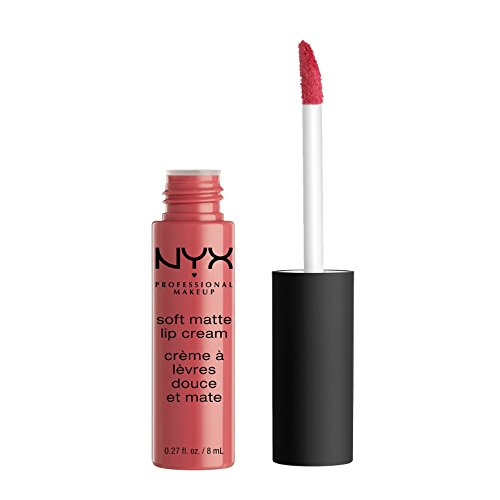 NYX Soft Matte Lip Cream, Antwerp, 1er Pack (1 x 8 ml) (Nyx Matte Lipstick-creme)