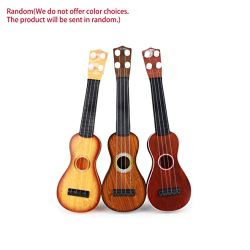 Preisvergleich Produktbild Noradtjcca 14, 5 Zoll Ukulele Anfänger Hawaii 4 String Nylon Saiten Gitarre Musical Ukelele für Kinder Kinder Mädchen