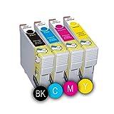 Pack 4 x Cartuchos de tinta de Gel RICOH GC41 ( Negro, Cian, Magenta y Amarillo ) para impresoras Ricoh Aficio : SG2010 SG / SG2010L / SG2100 / SG3100 / SG3100SF / SG3110 / SG3110DN / SG3110DNW, Capacidad ( Negro y colores 600 copias ), ( Con Chip ).