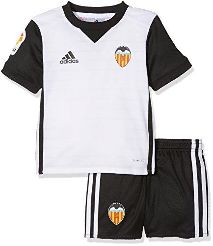 Adidas Vcf H Mini Conjunto, Unisex niños, Blanco, 110-4/5 años