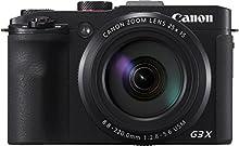 Canon PowerShot G3 X Fotocamera Compatta Digitale, 20.2 Megapixel, Zoom 25 x, Nero