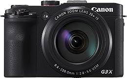 Canon PowerShot G3 X Kompakte Digitalkamera, 20,2 Megapixel, Zoom 25x - Schwarz