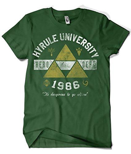682-Camiseta Hyrule Univeristy (XLArinesart)
