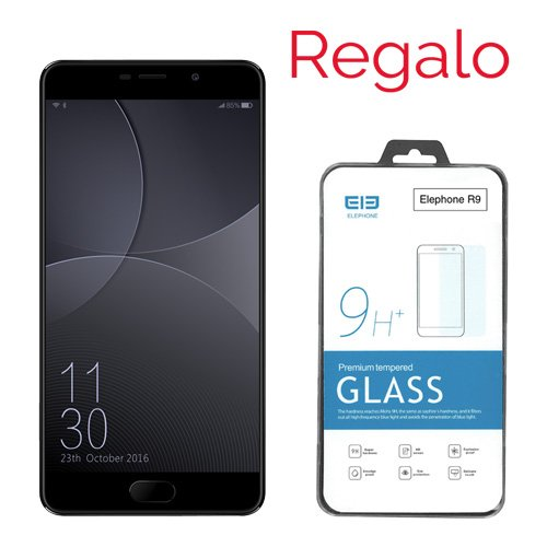 Telefono Movil Smartphone Elephone R9 32Gb 5.5' Negro/32Gb ROM/3 GB Ram/13Mpx - 5Mpx/Deca Core/Lector Huella/4G/Dual...