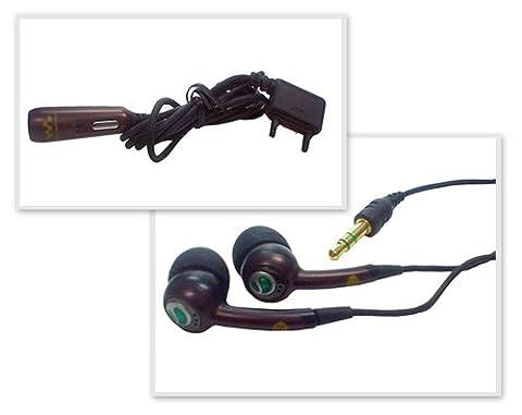 Original Sony-Ericsson Headset HPM-70 Stereo (weiss/pink)