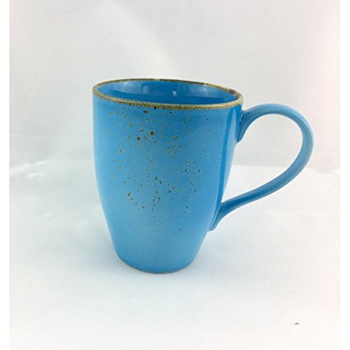 Kaffeetasse Kaffeebecher Teetasse NATURE COLLECTION BLUE | Steinzeug | 300 ml