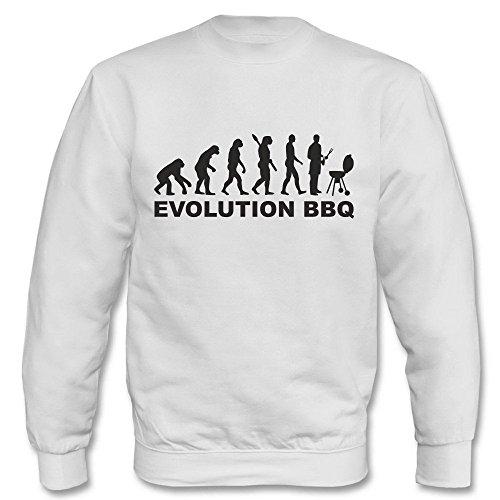 Pullover - Evolution BBQ Weiß