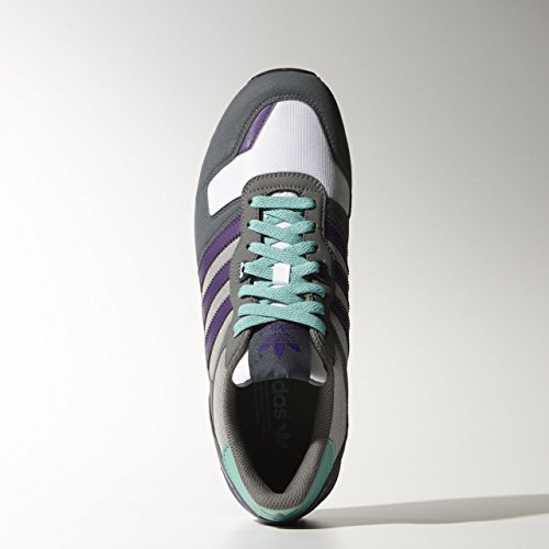 Adidas Zx 700, Grigio cenere / ric viola / boonix, 8.5 M Us ASH GREY/RIC PURPLE/BOONIX