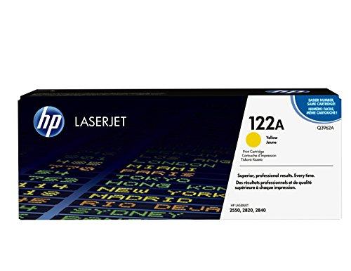 HP 122A (Q3962A) Gelb Original Toner für HP Color Laserjet 2550, 2820, 2840, 3000 - 3000 Gelb Toner