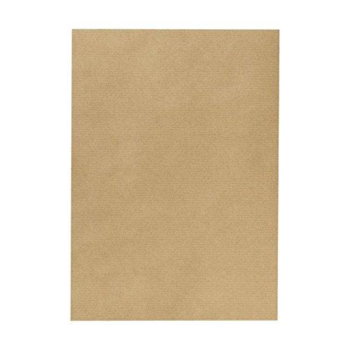 Herlitz 993048 Packpapierbögen, 1 m x 70 cm, 4 Stück, braun