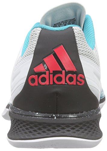 adidas Performance Damen Adizero Counterblast 7 Handballschuhe Weiß (Crystal White S16/Dgh Solid Grey/Shock Red S16)