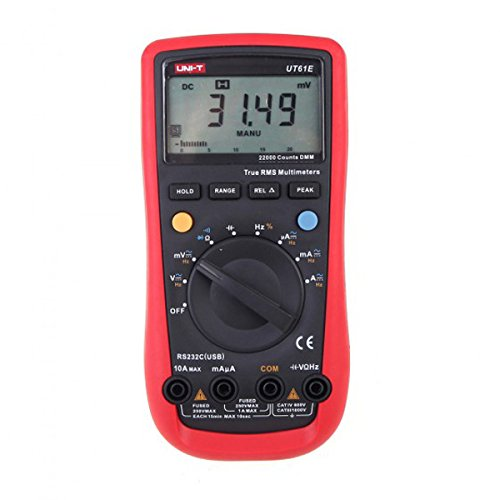 This title was given to the Signstek UNI-T UT61E AC/DC Modern Digital Auto Ranging Multimeter. This is because it has computer compatibility capabilities. The unit is also light enough to be carried around with ease. The features are also of good quality so durability is promised.