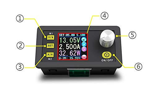 Baybar 80V 5A Programmable Constant Voltage Current Step-down Power Supply Module Buck Converter(USB Board+ Bluetooth Board)