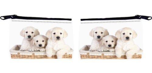 Rikki Knight Labrador Welpen Im Korb Design Scuba Foam Coin Geldbörse (Labrador-geldbörse)