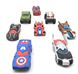 #4: SUPER TOY Die CAST Metal Play Set - Perfect Toy Set for Kids Super Hero Die-CAST Metal 8 Cars Set