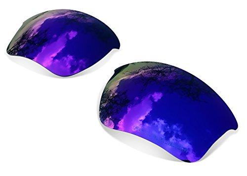 sunglasses restorer Kompatibel Polarisierte Ersatzgläser Purple für Oakley Half Jacket 2.0 XL