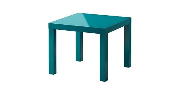 Ikea Lack Side Table 55 X 55 Cm Blue 2013 Amazon Co Uk Kitchen