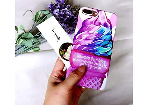 CHENYAJUAN EIS Violett Abbildung Mobile Shell Scrub Hard -