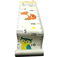 Growth Chart for Kids,Measuring Height Chart,Wall Ruler Removable Height Measure Chart for Toddler Height Wall Chart for Boy Girl Room Decor Wall Decor