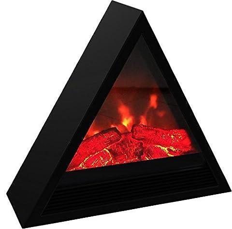 Cayenne 46711 Cheminée électrique Pyramide 1800 W Noir