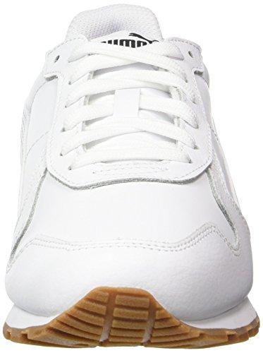 Puma St Runner Full L, Scarpe da Ginnastica Basse Unisex-Adulto Bianco (White-white)