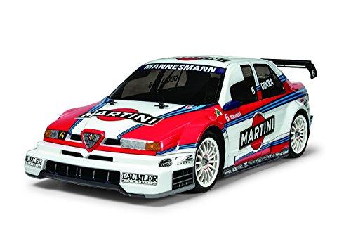 Dickie - Tamiya 300058606 - 1:10 RC Alfa Romeo 155 V6 TI Martini TT-02, Fahrzeuge