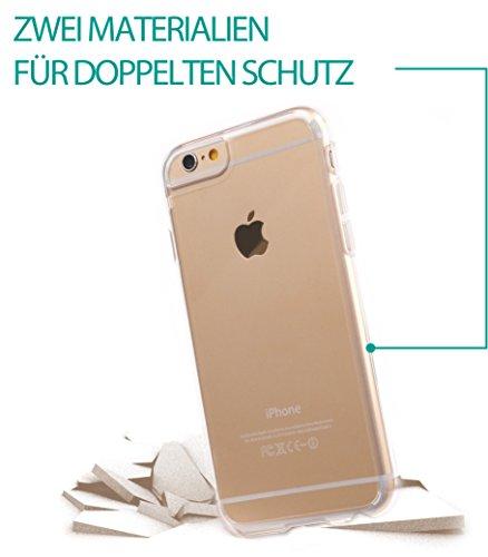 Skech Crystal Case per Apple Iphone trasparente/nero