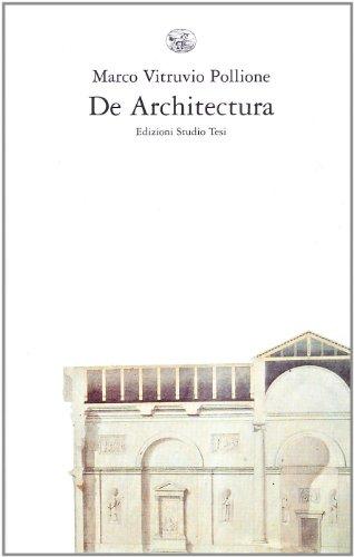 De architectura. Testo latino a fronte