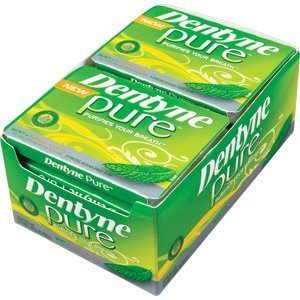 Dentyne Pure Gum Sugar Free Mint Melon, 10x9 Pc by Dentyne