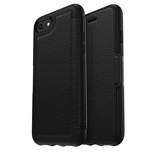 OtterBox Strada Series Premium Folio-Tasche aus Leder für iPhone 7/8, shadow