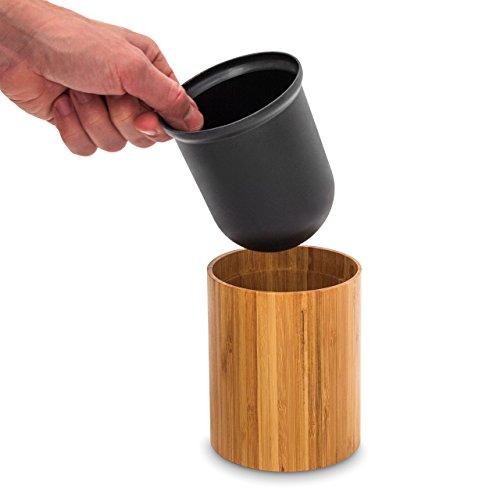 Bambus WC-Bürstenhalter - 5