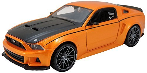 maisto-m39127-124-scale-to-build-a-ford-mustang-street-racer-die-cast-model-kit